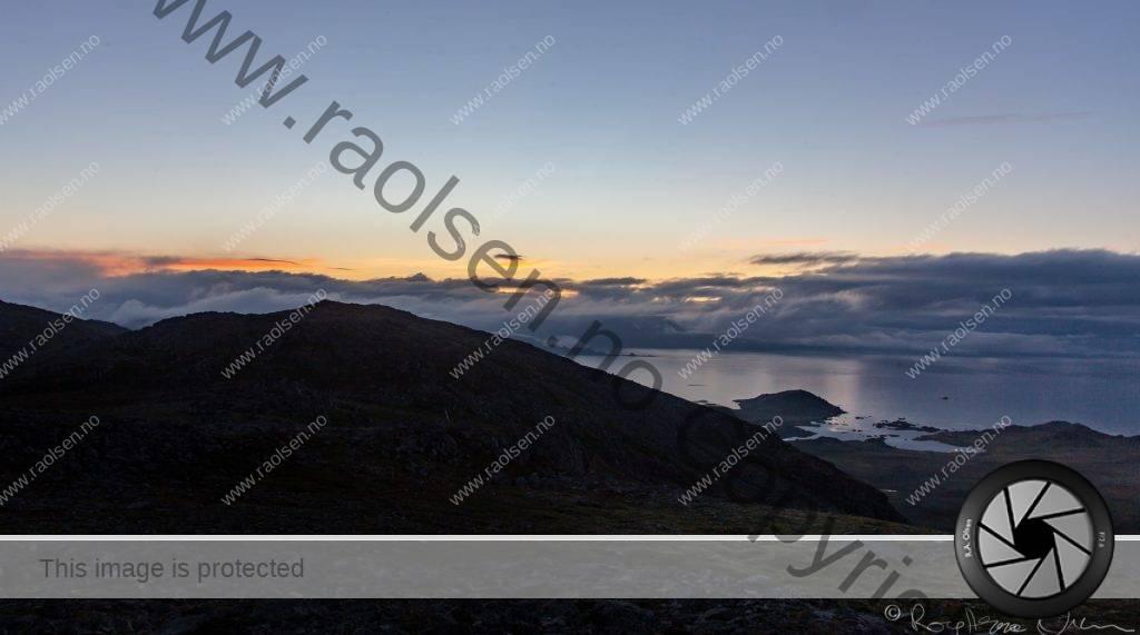 Tåke kommer inn fra Barentshave
