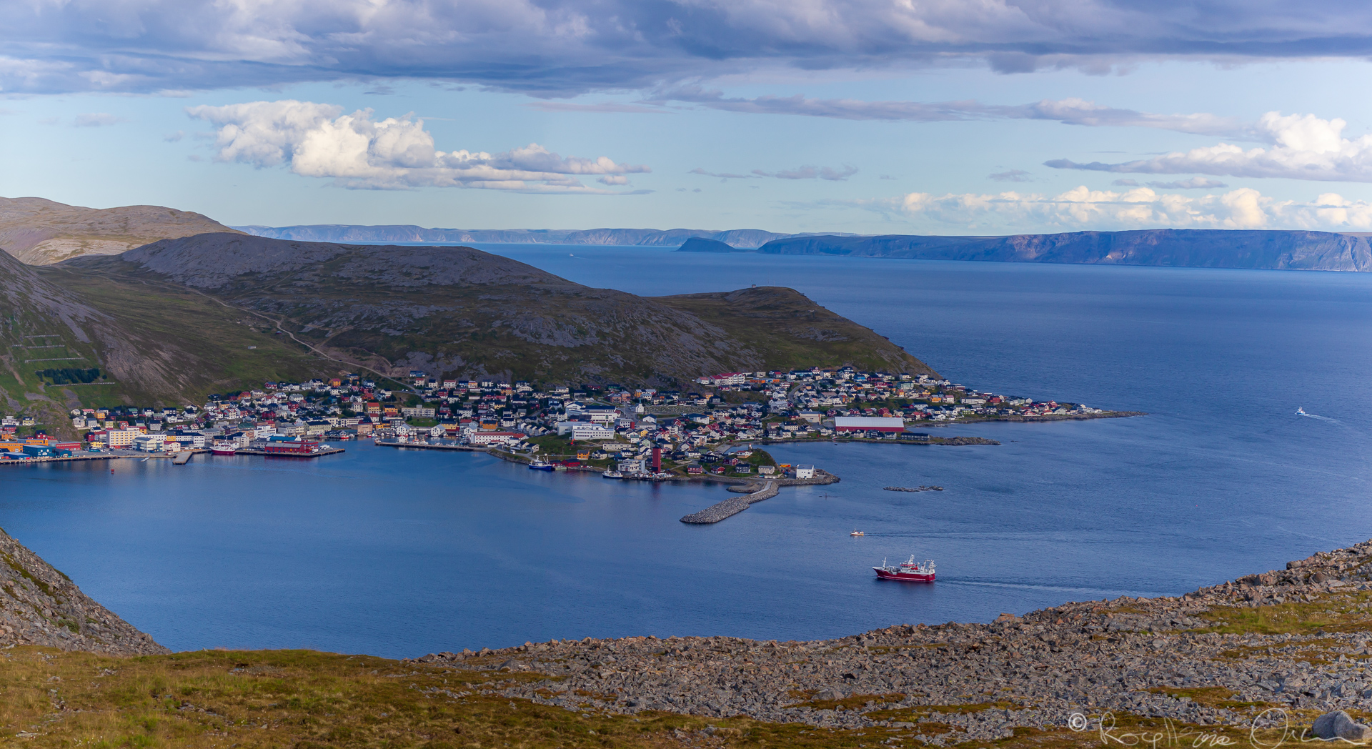 Panorama of Honningsvåg