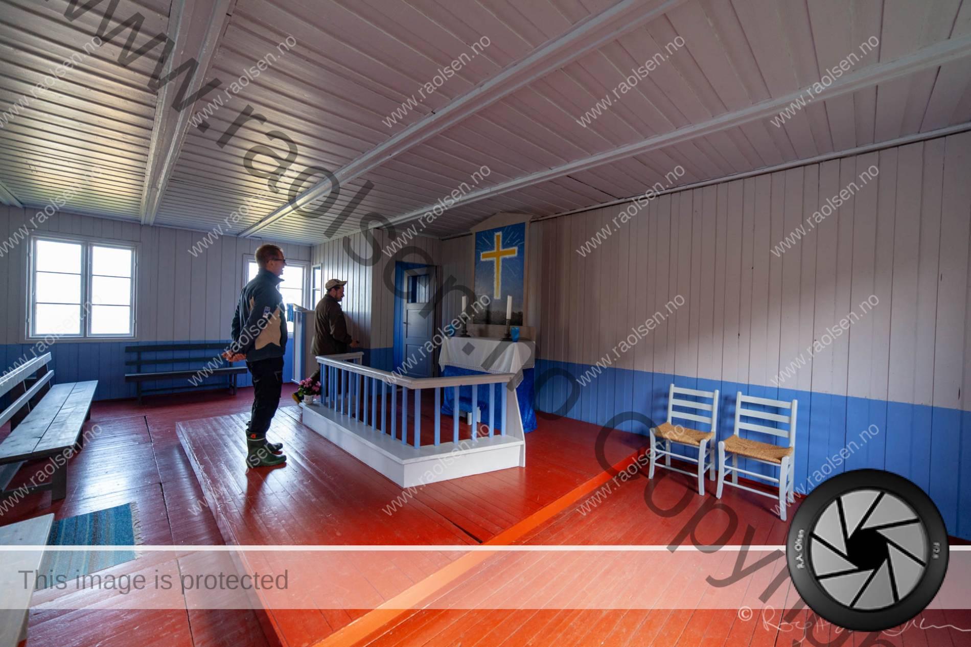 Omvisning i kapellet