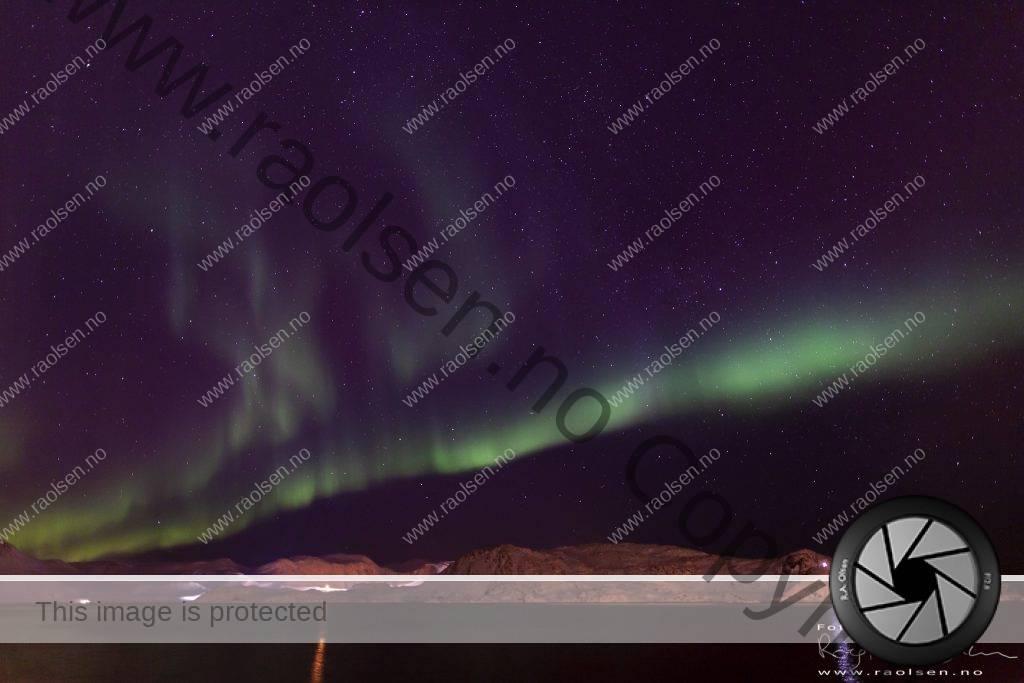 Aurora Borealis over Skipsfjorden